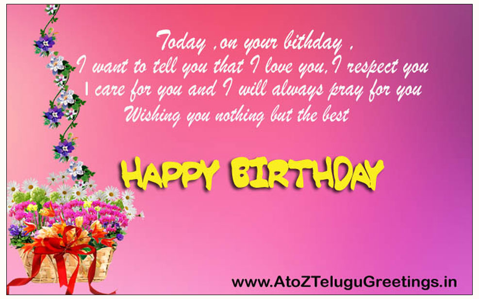 Birthday Wishes For Best Friend In English Images ~ Birthday messages for a friend in english language