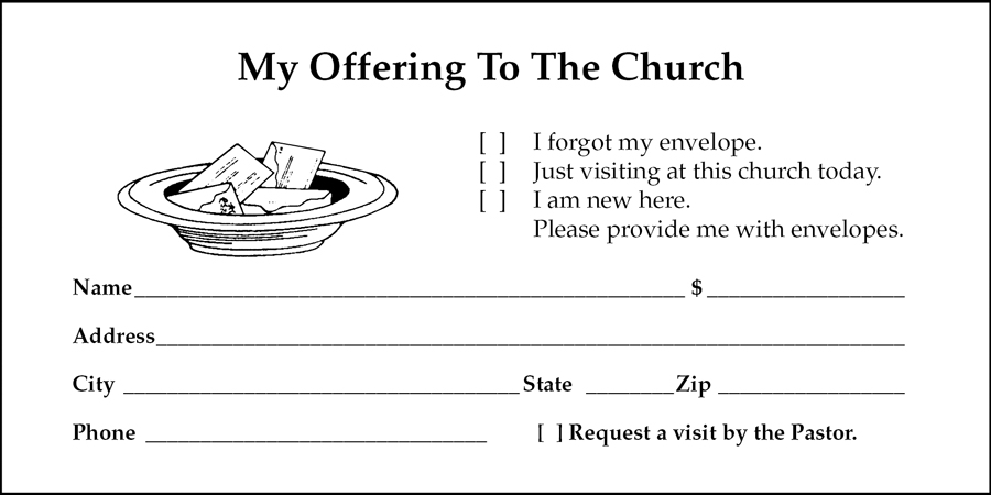 MyOfferingEnvelopecom is a Mainebased printing company specialized in customized offering tithing and donation envelopes We have been proudly serving our