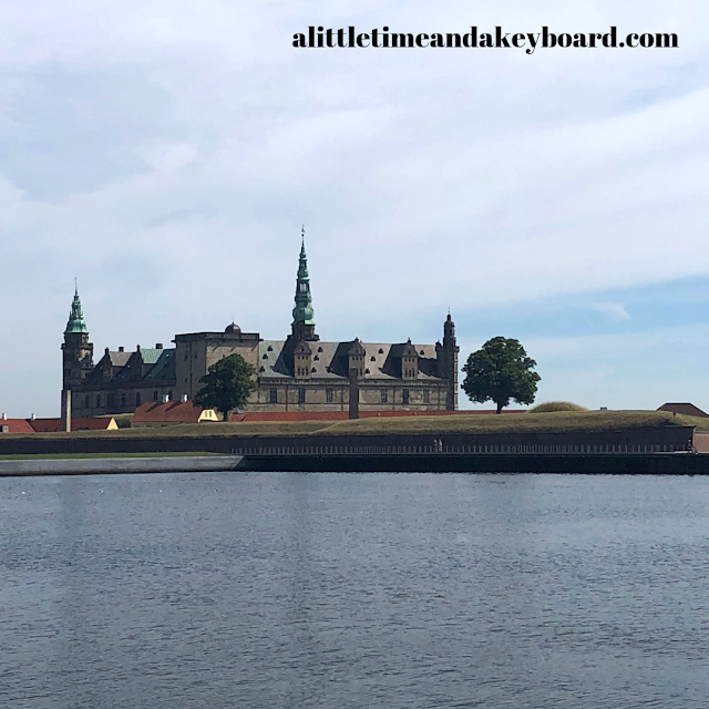 Kronborg Castle emerges regally above the Baltic Sea.