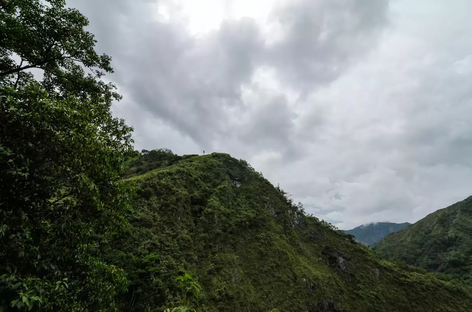 Heavy Cloud No Rain Yet at Batad Rice Terraces ifugao Cordillera Administrative Region Philippines