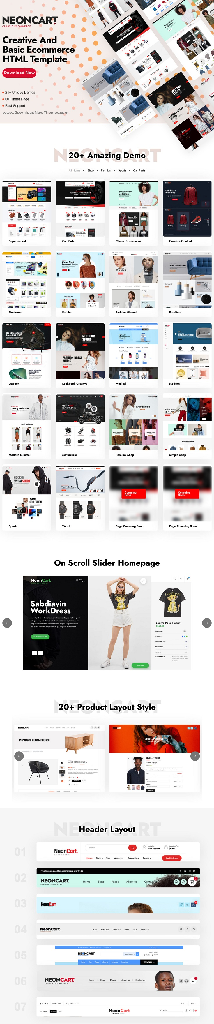 Best Multipurpose Ecommerce Bootstrap Template
