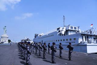TNI AL Resmi Pensiunkan KRI Karang Tekok-982 Dari Dinas Aktif