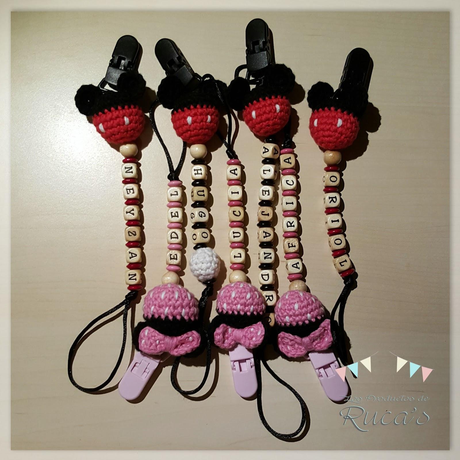El Blog de Ruca\'s: Patrón chupetero Mickey & Minnie