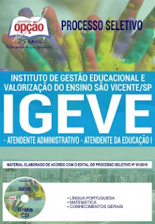 Download Apostila IGEVE 2019 PDF