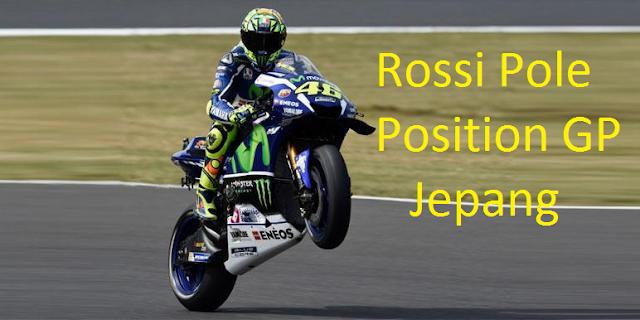 Secara Mengejutkan, Rossi Start Terdepan MotoGP Jepang