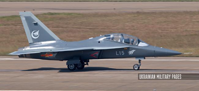 Ukrainian Military Pages Китай нарощує темп випуску новітніх навчально-бойових літаків Hongdu L-15 з українськими двигунами