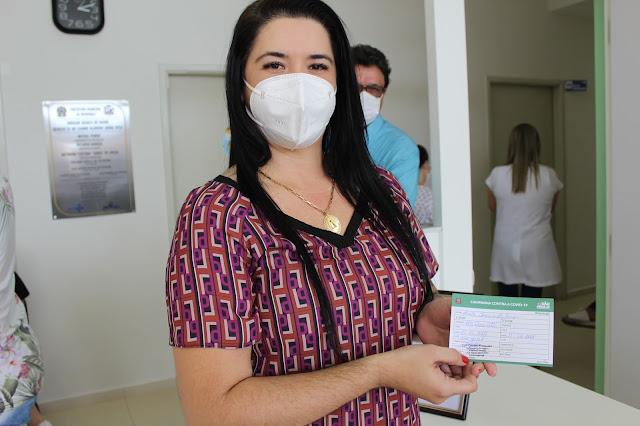Vacinação contra o Covid-19 começa a ser feita em Mendonça