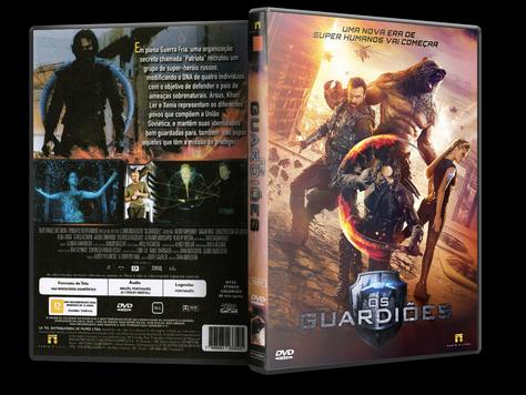 Capa DVD Os Guardiões (Oficial)