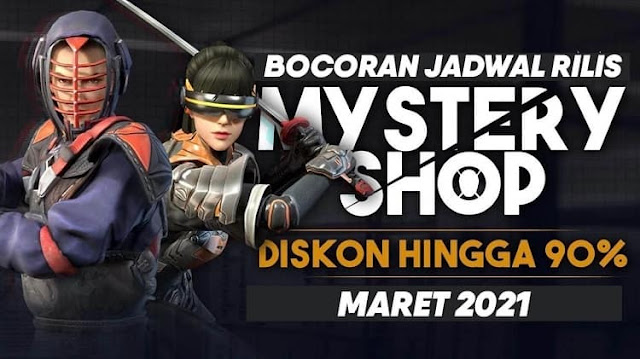 Tanggal Berapa Mystery Shop FF Hadir 2021