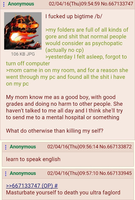 greentext displaying the helpful and friendly attitude of 4chan
