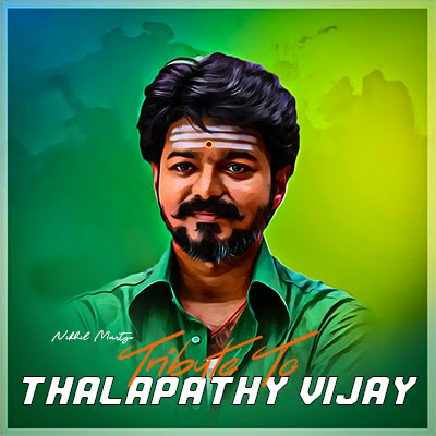 Tribute To Thalapathy Vijay | Vaathi Coming Remix | Dj Nikhil Martyn