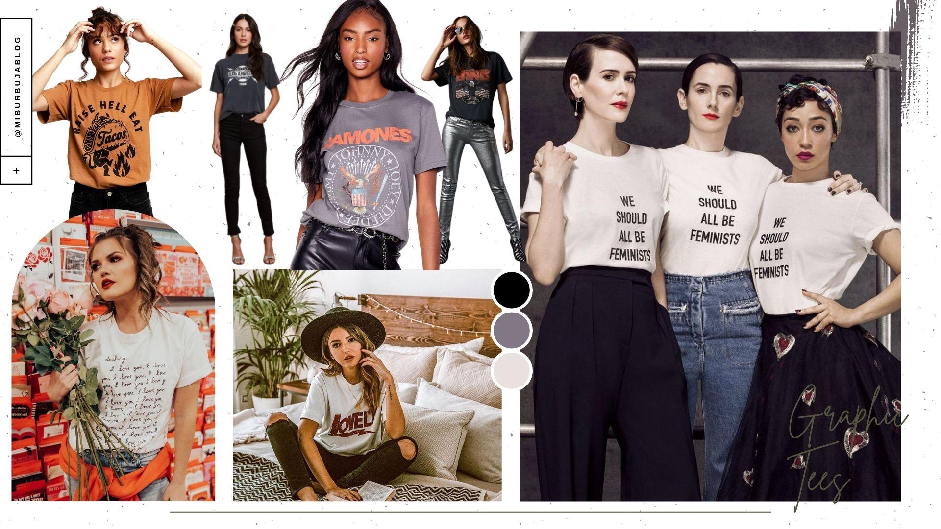 Camisetas impresas: un básico transformado en tendencia