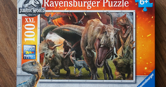 JURASSIC WORLD FALLEN KINGDOM JIGSAW