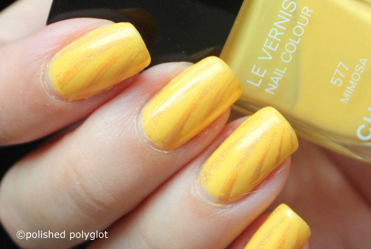 This Is Such An Easy And Quick Manicure That There No Excuse For Not Trying It Out If Yellow Your Colour Then Do With Wver You