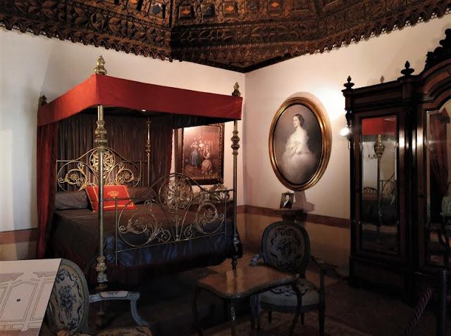 Castillo de Belmonte, dormitorio de la emperatriz Eugenia de Montijo