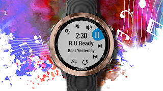 Riprodurre musica su Garmin Watch