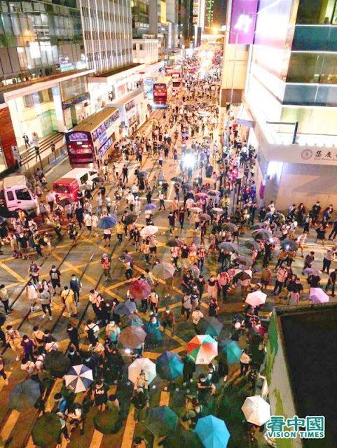 Người Hồng Kông diễu hành kỷ niệm 1 năm phản đối Dự luật Dẫn độ, vi phạm quyền con người