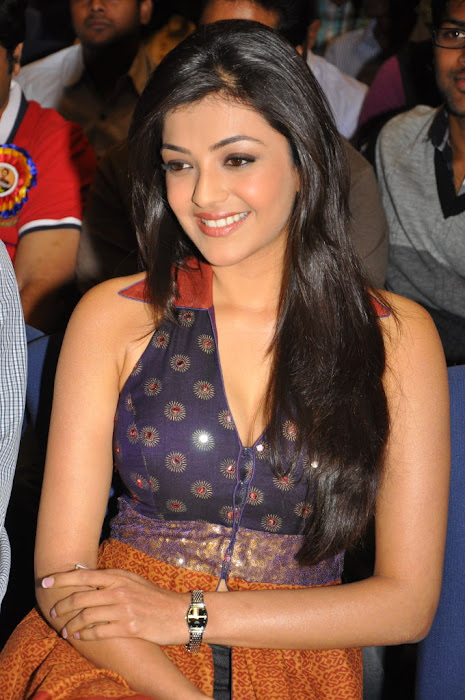 kajal agarwal at businessman platinum disc event, kajal new unseen pics
