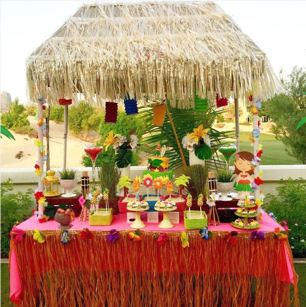 Decoracion hawaiana para mesas - Decoracion mesas para fiestas ...