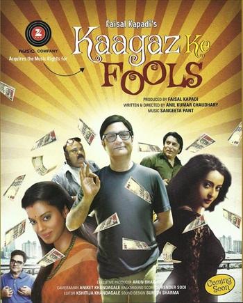 Kaagaz Ke Fools 2015 Hindi 720p DVDRip XviD 1.5GB