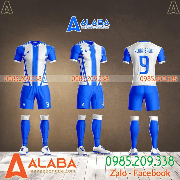 quần áo bóng đá màu xanh đẹp nhất