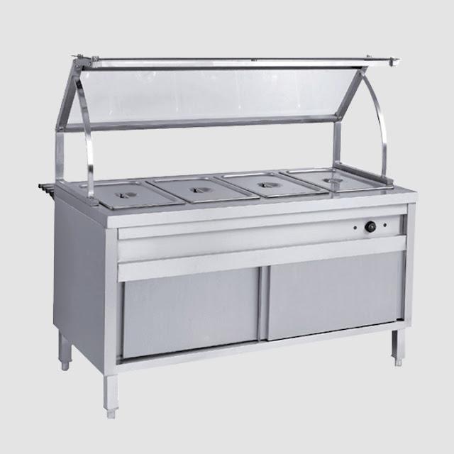 bàn - quầy - tủ giữ nóng thức ăn