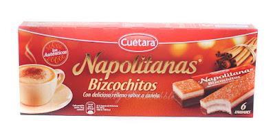 Napolitanas Bizcocho Cuétara