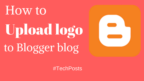 upload logo to blogger header