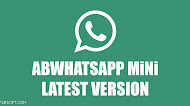 Download ABWhatsApp MiNi v1.0 Latest Version Android
