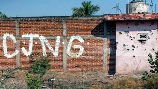 Fotos; Así están las fachadas de las casas en Aguililla, Michoacán tierra donde nació El Mencho y tomo con Elites de El CJNG