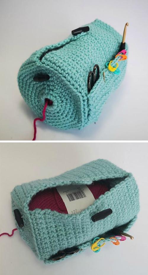 The Yarn Buddy Bag - Free Crochet Pattern