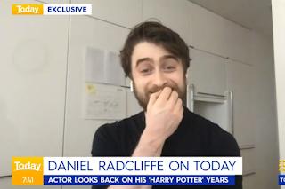 Daniel Radcliffe on the Today Show (Australia)