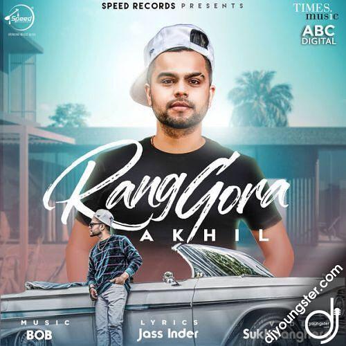 Rang Gora  Akhil   new song