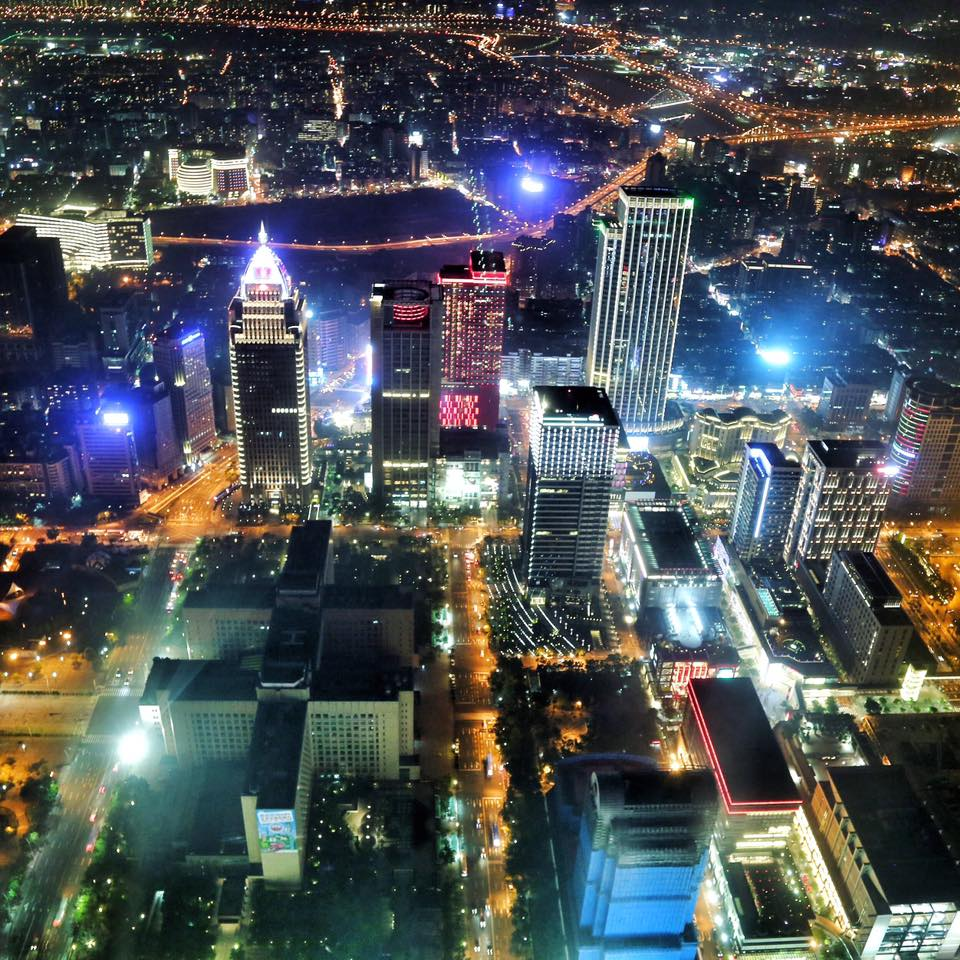 Travel with Crystal- 4 days in Taiwan- Taipei at night