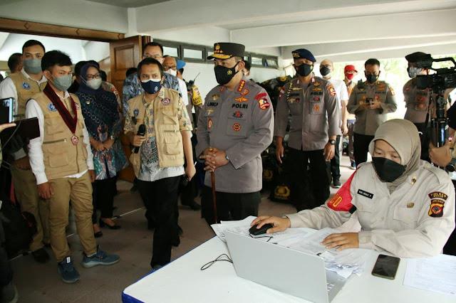 Percepat Vaksinasi, Listyo Sigit Prabowo Tegaskan Siap Bekerja Sama dengan Semua Pihak