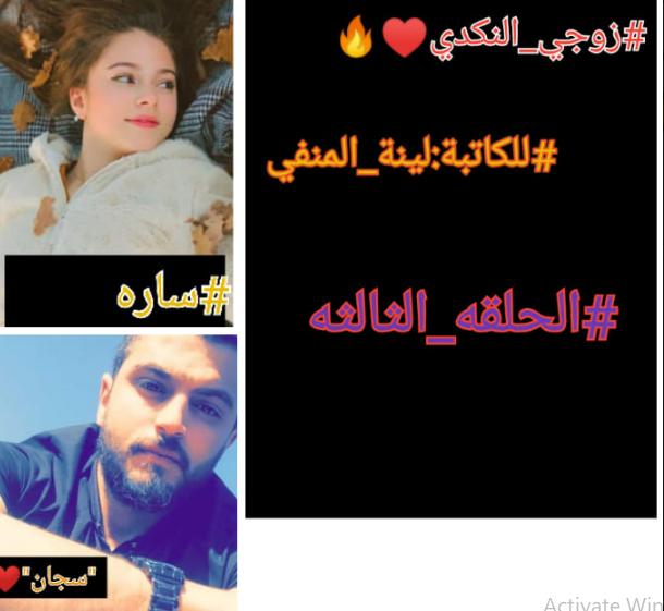 رواية زوجي النكدي الحلقة الرابعة كاملة للقراءة والتحميل pdf - لينة المنفي