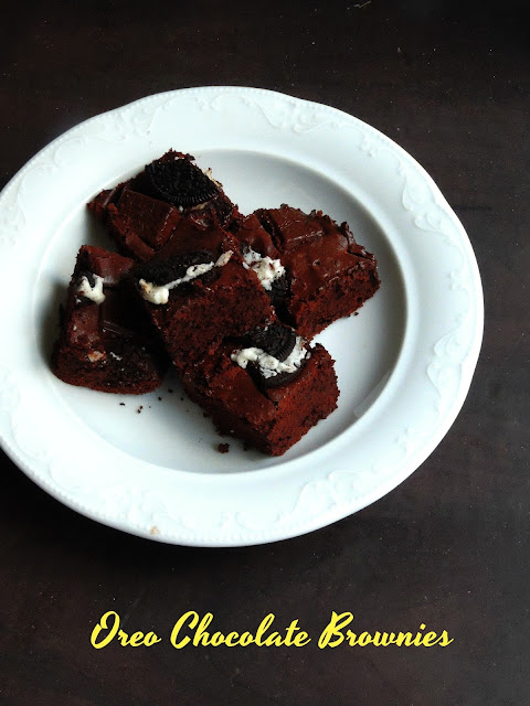 Oreo Chocolate Brownies