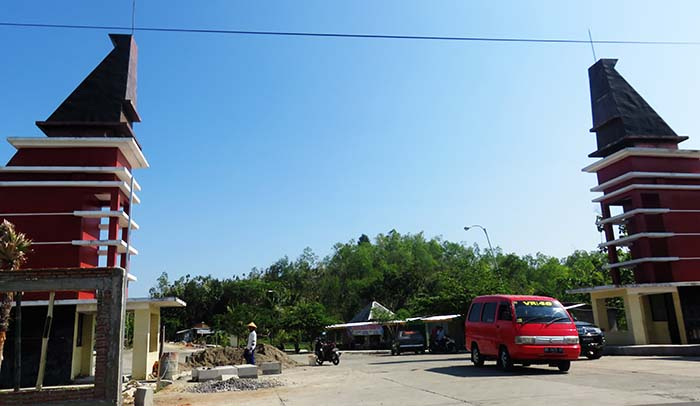 Gerbang Masuk Kawasan Museum Karst Indonesia