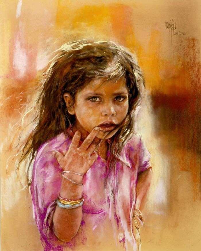 Испанский художник. Jose Luis Fuentetaja