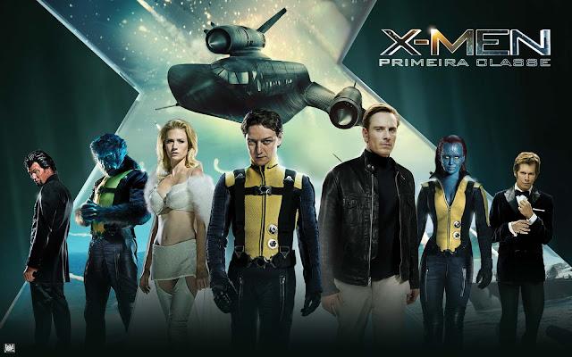 Temperatura Máxima Exibi: o filme X-Men: Primeira Classe - 10/12/2017