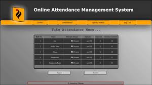Attendance Management System in Python with MySql database.