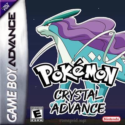 Pokemon Crystal Advance GBA ROM Hack Download