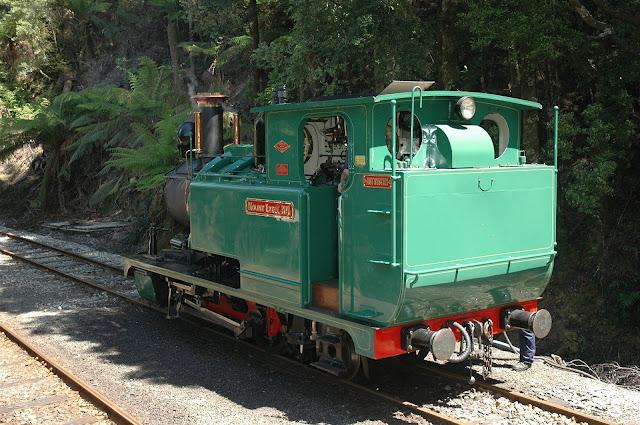 Train Tasmania Australia