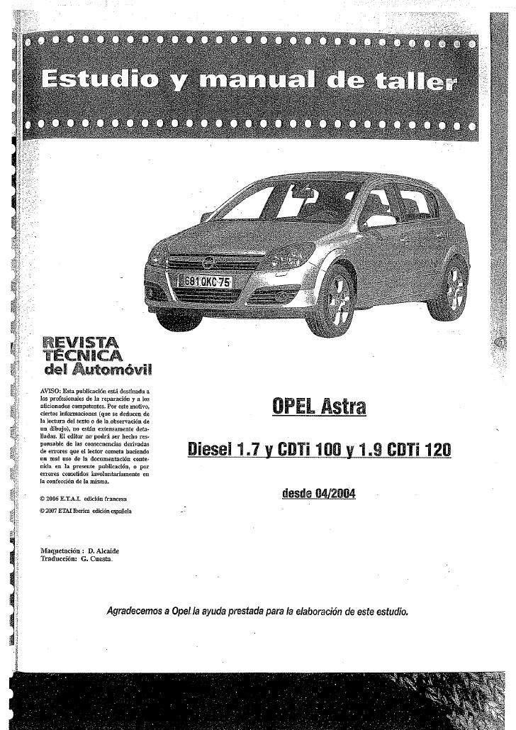 Manuales De Taller Automotriz Gratis