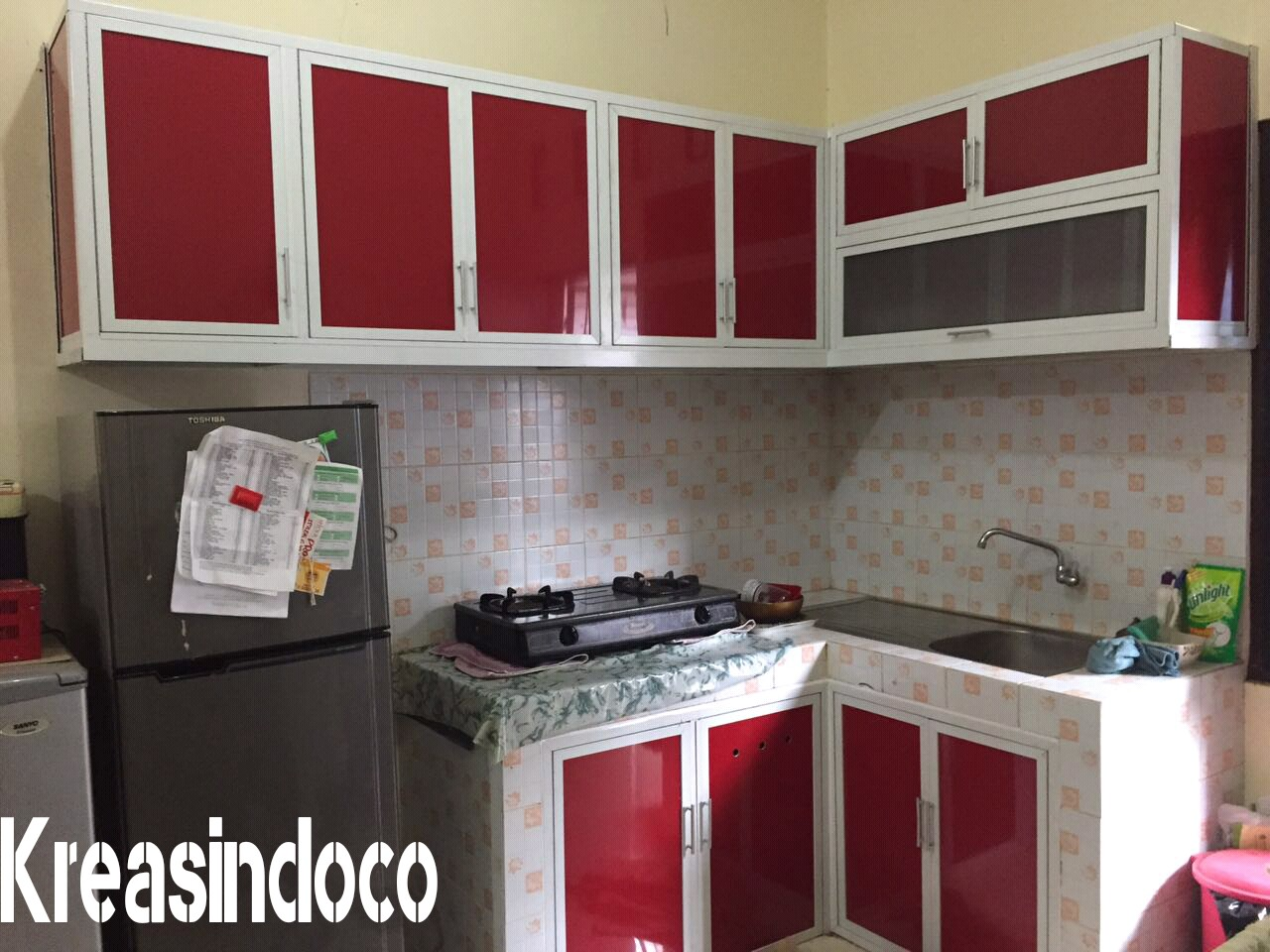 Model dan warna kitchen set aluminium acp peluang bisnis for Kitchen set warna putih