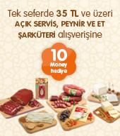 Migros Peynir ve Et Şarküteri 30 TL Harca 10 Money Kazan