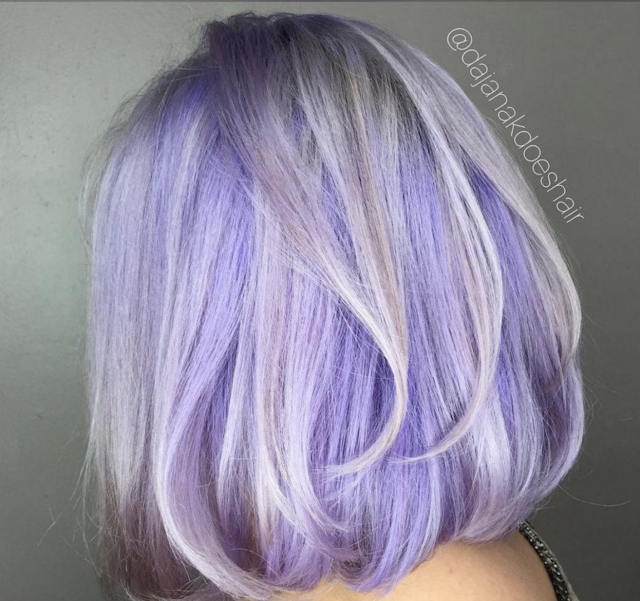 purple hair colour 2020