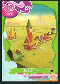 My Little Pony Appleloosa Series 1 Trading Card