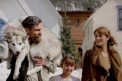 "Brian Presley, Emma Presley, and Brea Bee in a ""The Great Alaskan Race"" movie still"