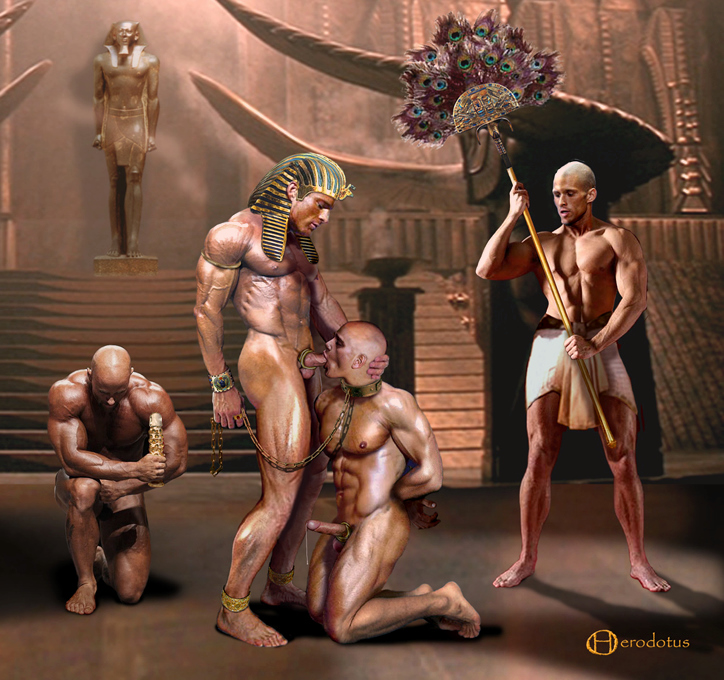 Egiptian Male Nudes 119